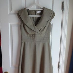Clavin Klein Dress Size 4 - Neutral Color